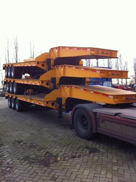 Flatbed Trailer 45 ton